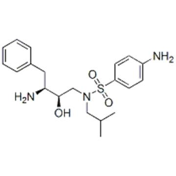 Benzenesulfonamide,4-amino-N-[(2R,3S)-3-amino-2-hydroxy-4-phenylbutyl]-N-(2-methylpropyl) CAS 169280-56-2
