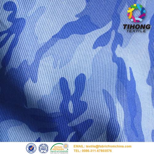 Drukowanie kamuflażu tkaniny kwasoodporne