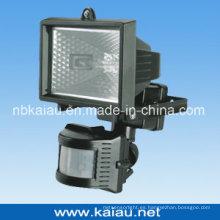 Luz de la inundación del halógeno del sensor de PIR (KA-FL-150A)