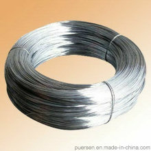 Electro / Hot Dipped Fábrica de alambre de acero galvanizado 1.0mm