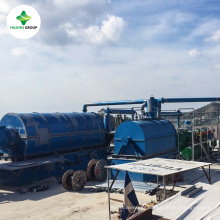 Landfills/ Waste tire to Energy Using Pyrolysis Plant Recycling Machine Sold to Over 50 Countries
