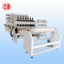 ultrasonic compound machine for nonwoven filtering material