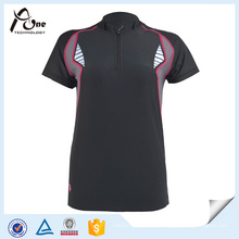 OEM Black Cycling Jersey Custom Bicycle Wear