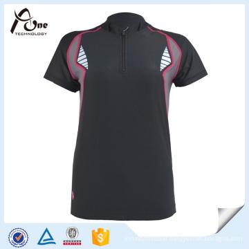 OEM Black Cycling Jersey Custom Bicycle Wear