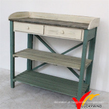 Shabby Farm Antique bancada e mesa de madeira Potting