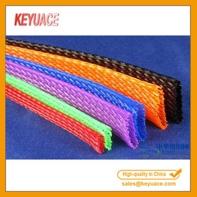 Nylon Cable Sleeve Flätad Wrap Sleeving