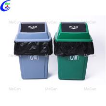 Saco de lixo plástico biodegradável preto lixo pesado