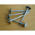 All Size Umbrella Head Roofing Nail with Plastic Washer