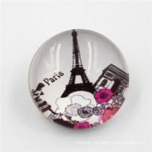 Großhandel dekorative Resin Covered Press Snap Button