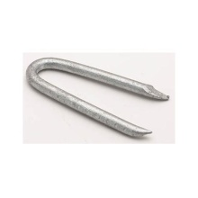 Hot selling attractive for Galvanized Steel Nails Electro Galvanized U Shape Fence staple export to Guinea-Bissau Supplier