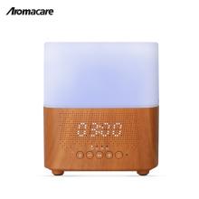 Negative Ionen Produkte Bluetooth Lautsprecher Musik USB Ätherisches Öl Diffusor Uhr Timer Aroma Diffusor 300 ml Holz Diffusor