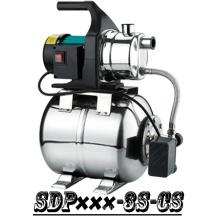 (SDP600-3S-CS) Casa autocebante jardín Jet Booster bomba de agua con tanque