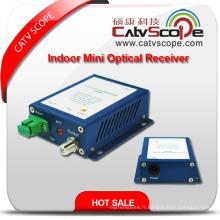 Fournisseur Chine Haute performance CATV Smart Indoor FTTH Mini Récepteur / noeud optique