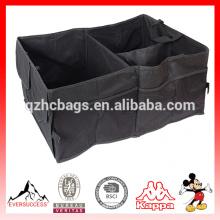 Carro Tronco Organizador Plegable Bolsa Almacenamiento Negro Plegable en el maletero del coche