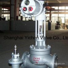 Válvula de controle de manguitos eléctricos do tipo Rotork atuador globo