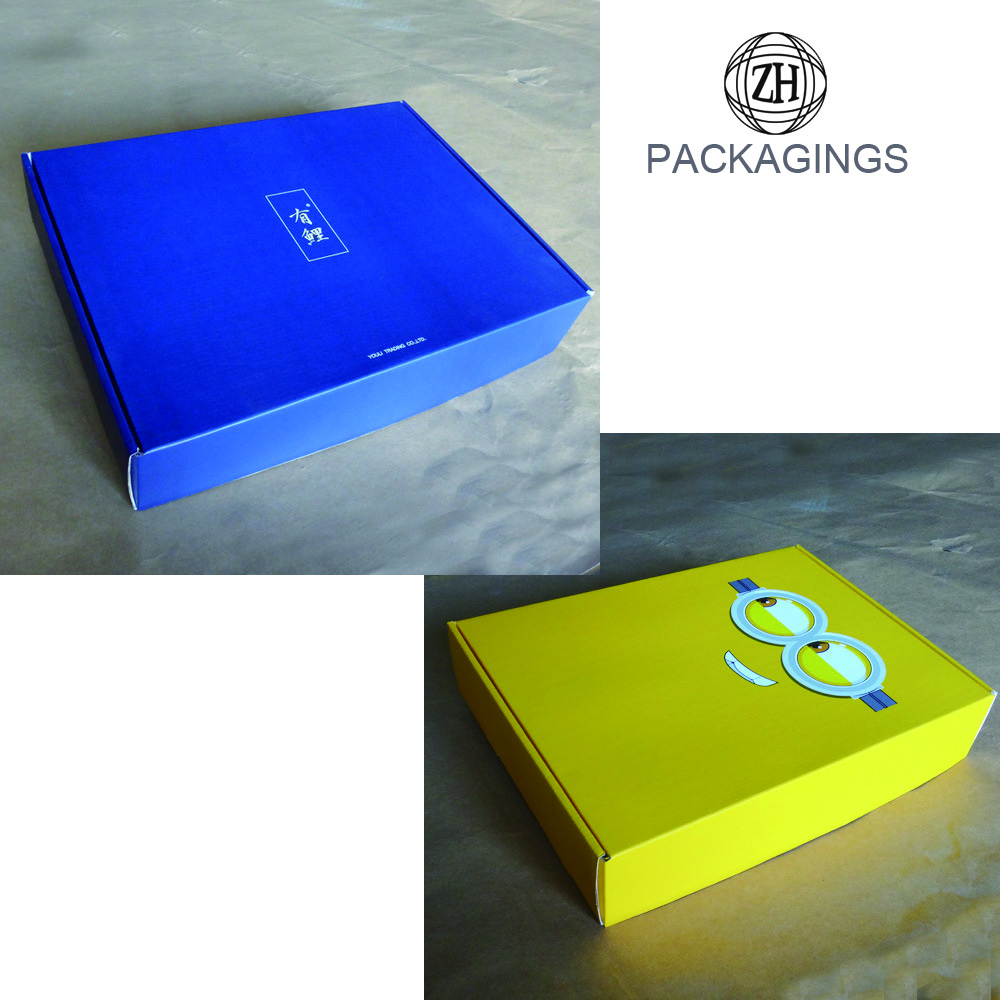Sweet cartoon design apparel mailer box retail
