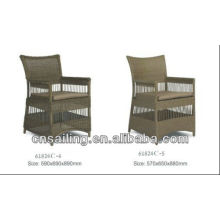 Popular Patio Waterproof chair pe ratan