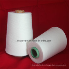 La mejor calidad T / C 65polyester / 35 hilos de algodón 32s