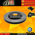 Japan car brake disc rotor, auto sparts parts disc brake drum factory