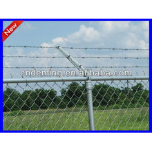 DM high quality galvanized Barbed Wire Security Fence from Anping factory