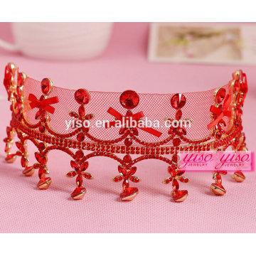 beautiful alloy fashion crystal wedding tiara