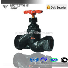 High quality cast iron rf end globe valve pn16 price list