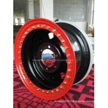 Double Side Beadlock Size 15X8, PCD6-139.7, CB110, Et-30 Steel Wheel Rim