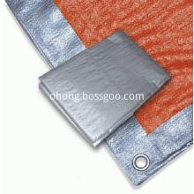 Grey Color  Waterproof PE Tarpaulin Sheet