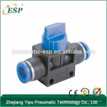 ningbo ESP alta qualidade união reta china válvulas pneumáticas