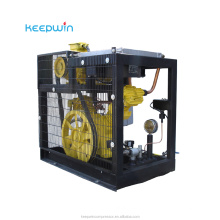 100% polyester fabric air compressor 22KW oil-injected Rotary Screw Air Compressor