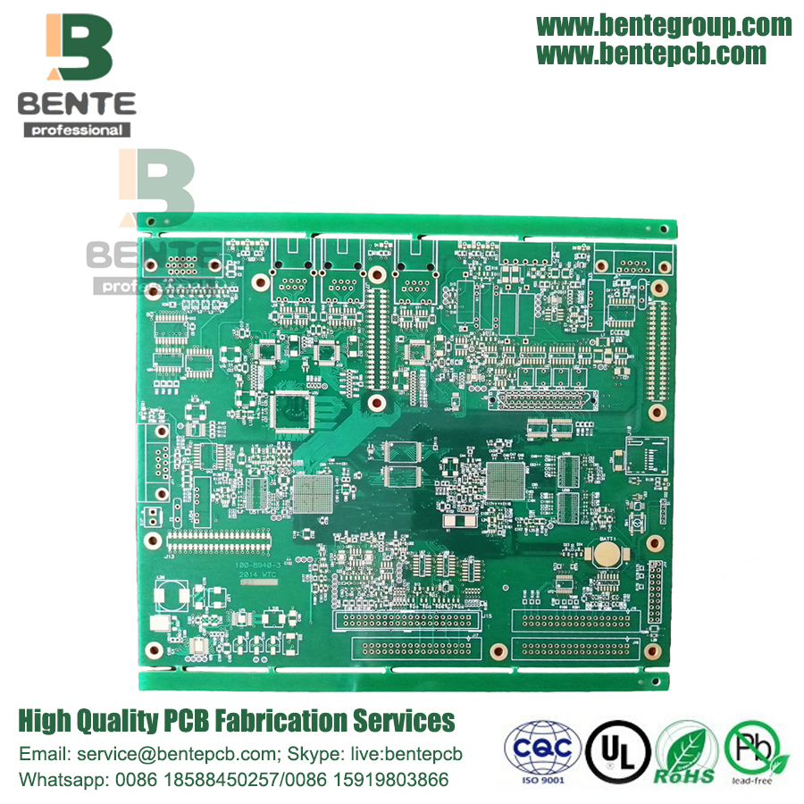 8Layers Board TG170 PCB BGA Multilayer de alta precisão