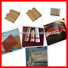 wpc pvc wood plastic profile making machine