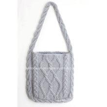Hand Knit Shoulder Handbag Vacation Warm Weather Bag Purse Pocketbook