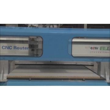 Porte en bois IGW-1325, machine de découpe cnc de portique de porte d'armoire / machine de routeur cnc 3 axes