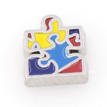 Beautiful and colorful floating meomory locket enamel charms wholesale