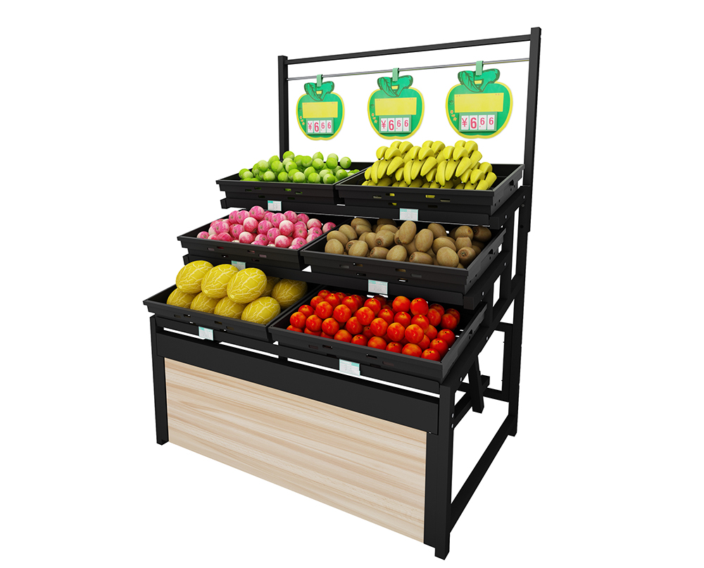 metal fruit shelving