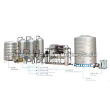 Água tratamento sistema linha de produção completa