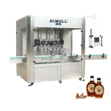 Automatic stainless steel maple syrup bottle liquid filling and capping machine