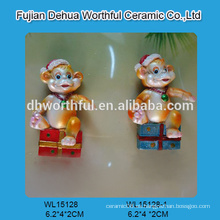 Arte decorativo del polyresin, estatuilla del mono del polyresin para la venta