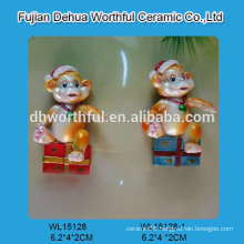 Decorative polyresin craft,polyresin monkey figurine for sale