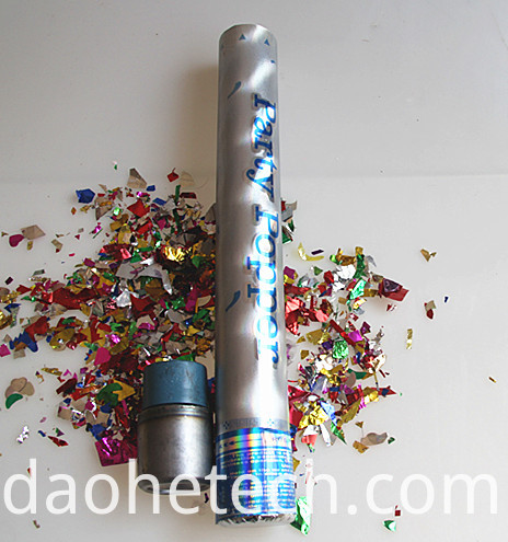 Silver Party Popper