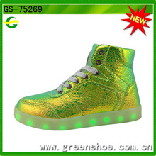 New Popular Fashion Luminous Light up Shoes for Kid (GS-75269)
