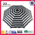 Fashion Promotional Gifts Printing New Design Wholesale Navy Sun Folding Striped Rainproof Commercial Umbrella
