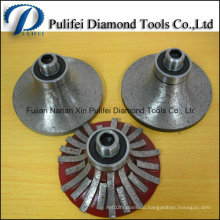Bullnose Ogee Profiling Wheel Portable CNC Router Bit for Granite Router