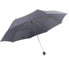 Big size 27Inch aluminum shaft light weight windproof golf 3folding umbrella for outdoor