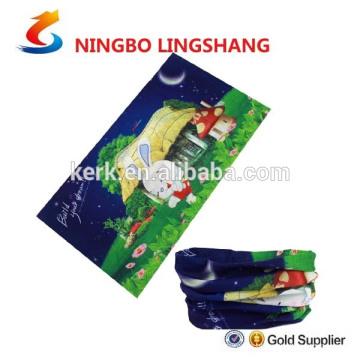 100% poliéster Multifuncionais bandana de tubo de design do cliente