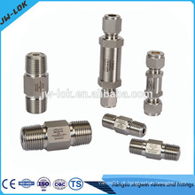 Fabricante de válvulas de retenção de placa dupla de alta pressão na China