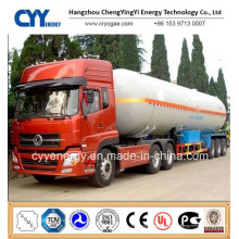 China 2015 LNG Lox Tankwagen Auflieger mit ASME GB