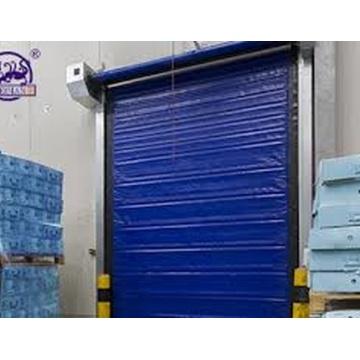 Porta fria de congelação automática industrial da sala do zíper do PVC