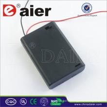Daier aa Batteriehalter 4.5v aa Batteriehalter mit Abdeckung 3 aa Batteriehalter